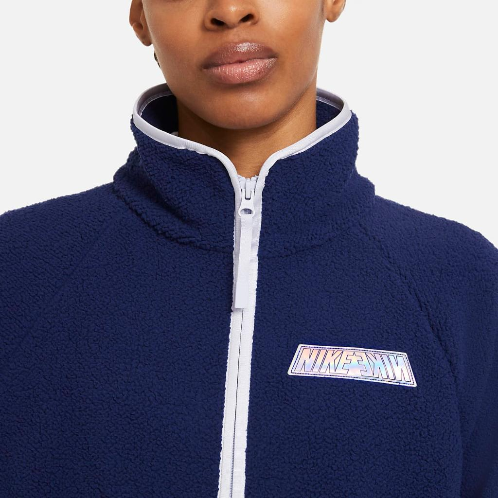 Nike Sportswear Women's Sherpa Jacket DD9076-492
