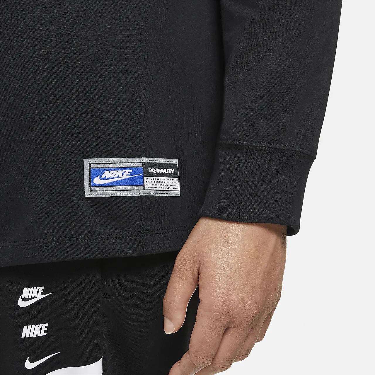 Nike Sportswear Women's Long-Sleeve T-Shirt (Plus Size) DH1103-010
