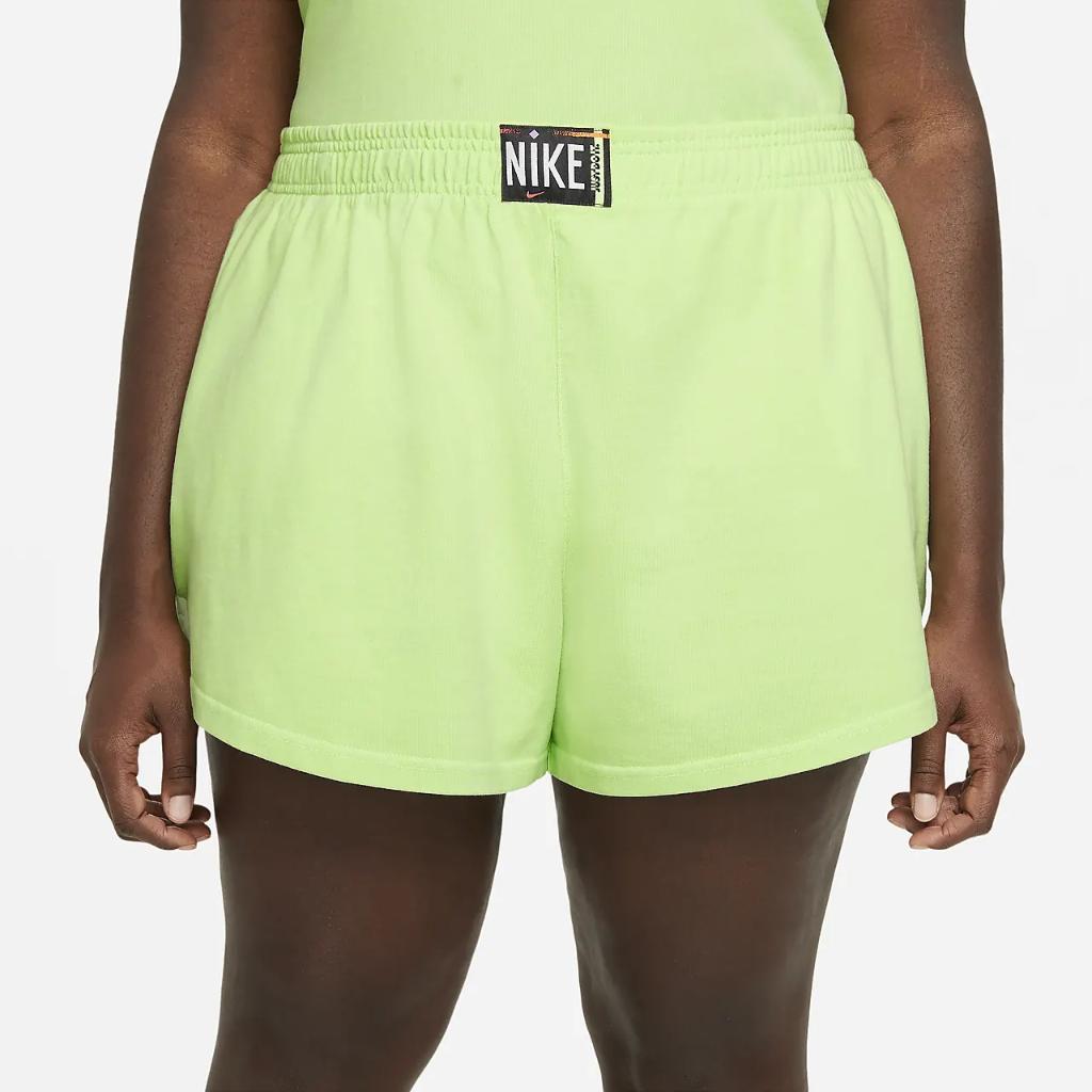 Nike Sportswear Women's Washed Shorts (Plus Size) DH3033-358