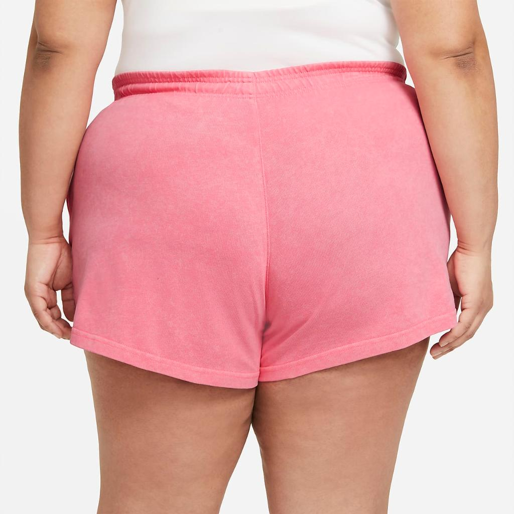 Nike Sportswear Women's Washed Shorts (Plus Size) DH3033-675