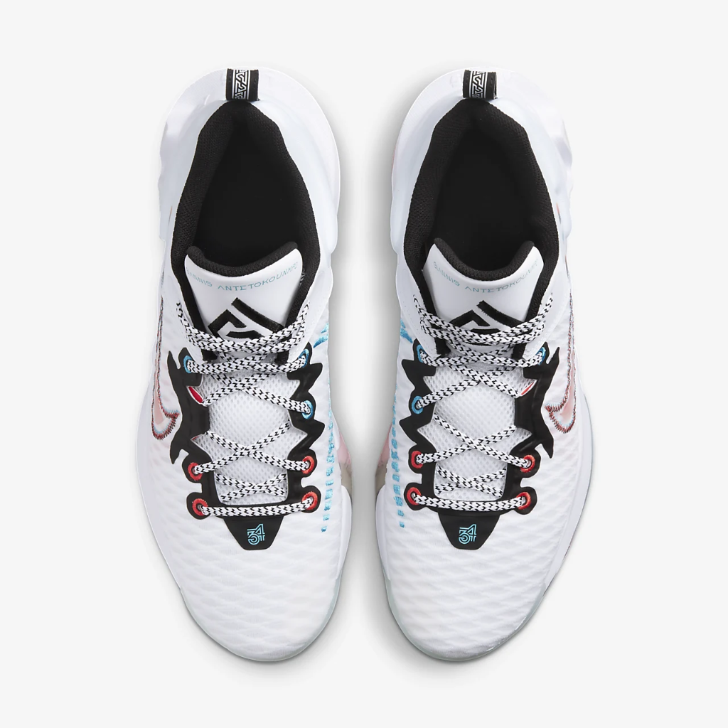 """Giannis Immortality """"Force Field"""" Basketball Shoe DH4470-100"""