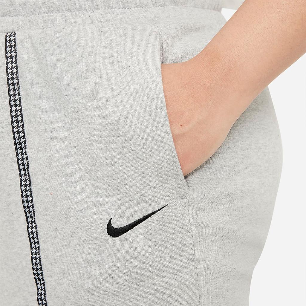 Nike Sportswear Icon Clash Women's Easy Fleece Mid-Rise Joggers (Plus Size) DJ6680-063