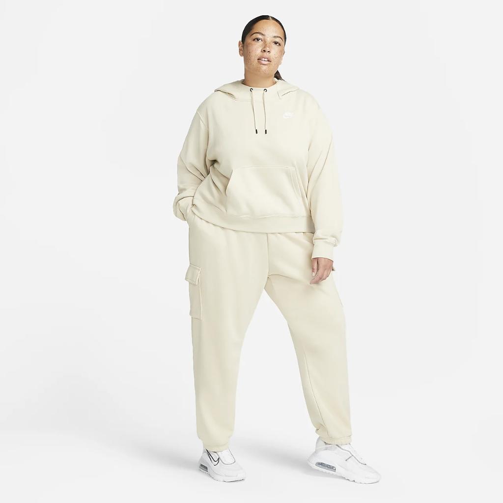 Nike Sportswear Essentials Women's Oversized Fleece Hoodie (Plus Size) DJ6683-206