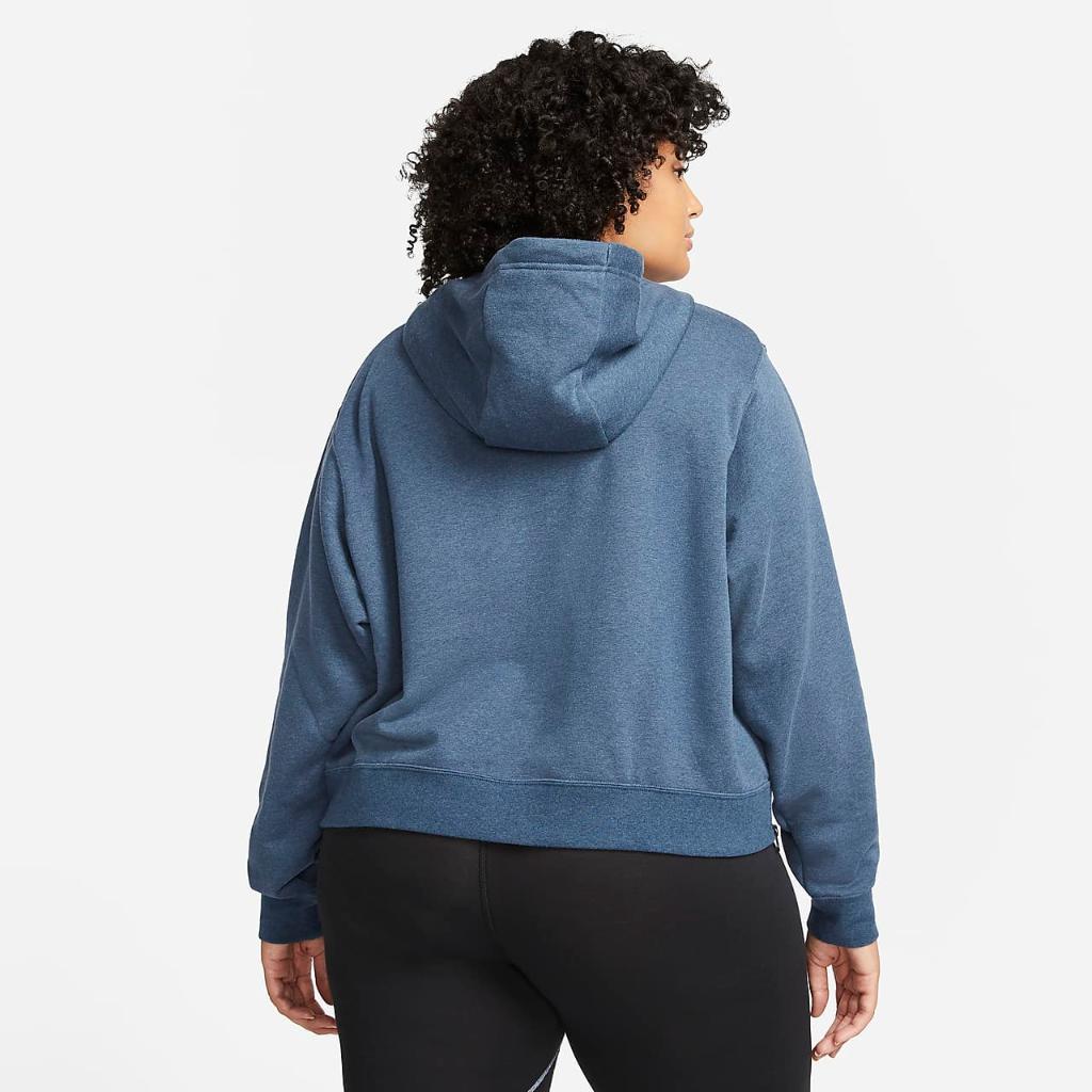 Nike Sportswear Essentials Women's Oversized Fleece Hoodie (Plus Size) DJ6683-410