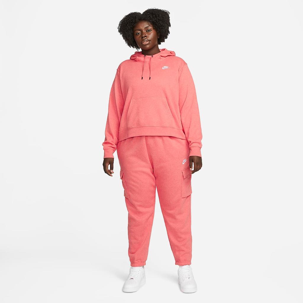 Nike Sportswear Essentials Women's Oversized Fleece Hoodie (Plus Size) DJ6683-815