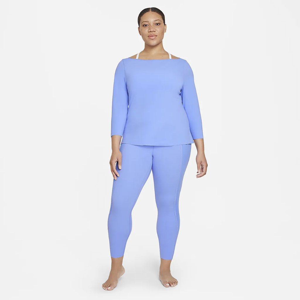 Nike Yoga Luxe Women's Long-Sleeve Top (Plus Size) DM3375-478