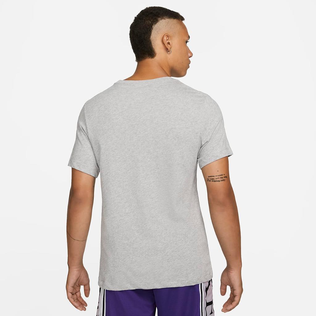 "Nike Dri-FIT Metallic ""Just Do It"" Men's Basketball T-Shirt DM4483-063"