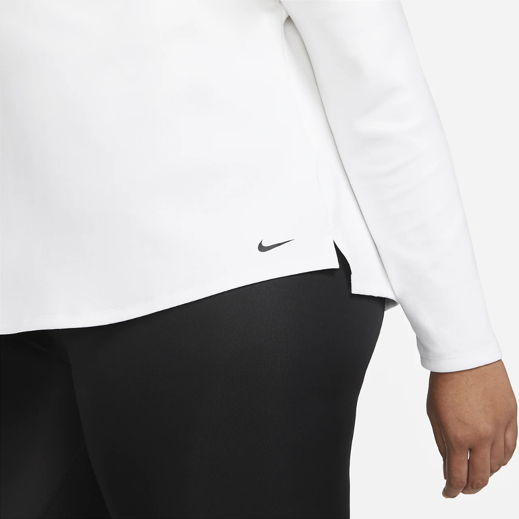 Nike Therma-FIT One Women's Long-Sleeve 1/2-Zip Top (Plus Size) DN2239-100