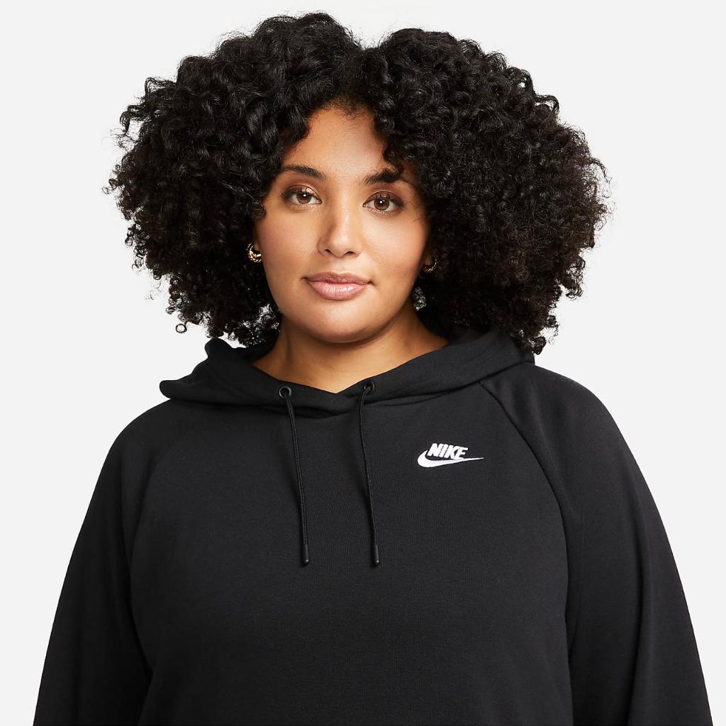 Nike Sportswear Essential Women's Fleece Dress (Plus Size) DN5473-010