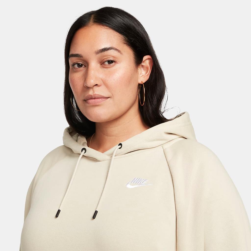 Nike Sportswear Essential Women's Fleece Dress (Plus Size) DN5473-206