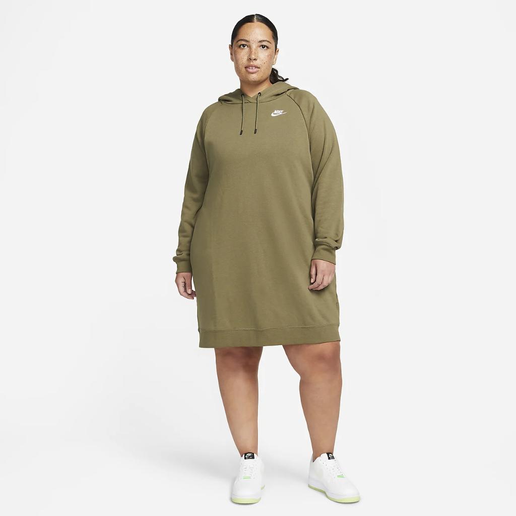 Nike Sportswear Essential Women's Fleece Dress (Plus Size) DN5473-222