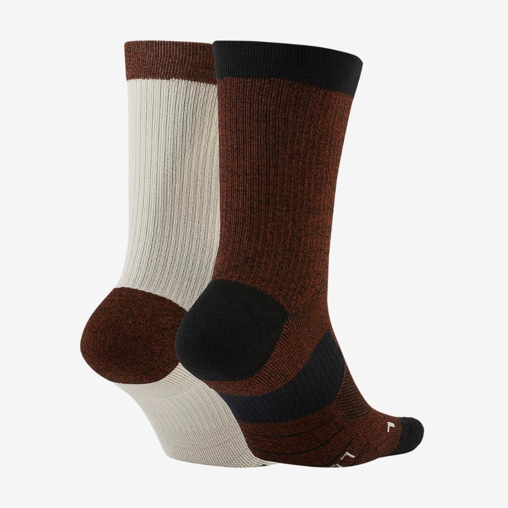 Nike Multiplier Crew Sock (2 Pairs) SX7557-988